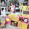 美7岁女童摆摊卖柠檬汁 帮自己筹脑部手术费用感到全网