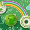 St Patrick Day 到了! 今年想要來點  Krispy Kreme 綠色幸運甜甜圈嗎?(3/16-17)