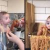 女傳烹飪「寶寶義大利麵」影片爆紅 卻遭網友怒批:浪費食物
