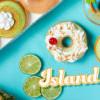 陽光 沙灘 椰子樹!Krispy Kreme 限時新品 海島風甜甜圈你試了沒?(-5/30)