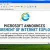微軟 IE 瀏覽器叱吒一時 2022年6月終止服務