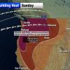 美加西部持續遭逢破記錄高溫 溫帶城市高溫如沙漠