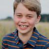 Prince George 8岁生日 剑桥公爵夫人秀爱子萌照藏洋葱