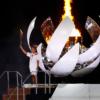 日皇宣布東京奧運正式開幕 日本女網好手大坂直美點燃聖火 [影]