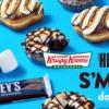 熱量炸彈來襲! Krispy Kreme 推出全新 S'mores 棉花糖巧克力甜甜圈