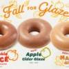 Krispy Kreme 秋之味甜甜圈 每周都有新口味 (9/6-11/25)