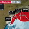 颶風 Nicholas 攜豪雨登陸 Texas 嚴防淹水暴潮