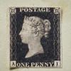世界首枚邮票「Penny Black」将拍卖 估价高达825万美元