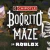 尖叫万圣节 Chipotle 大优惠~访问 Roblox 游戏虚拟餐厅 一百万🌯 Burritos 免费送! 还有$5特惠折扣别错过