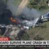 奇跡!德州私人飛機墜毀 機上21人逃過一劫