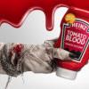 """HEINZ Tomato Blood Ketchup """"血漿""""蕃茄醬全美上市!還有萬聖節特別血衣工具包~"""