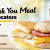 McDonald 連續五天向全美教育工作者提供免費 Thank You Meal 感謝早餐(10/11-10/15)