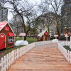 仿真糖製薑餅屋小鎮 12月麥迪遜廣場公園開幕
