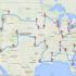 春假计划road trip?数据达人提供最佳自驾游路线图