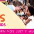 Summer Sounds – World Music for Kids 兒童世界音樂表演 (7/11 – 8/5)