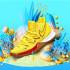 派大星穿上腳 NBA明星Kyrie Irving新鞋走海綿寶寶風