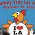 Turkey Trot Los Angeles 趣味火雞裝路跑 (11/28)