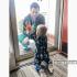 站在抗疫第一線!醫師與家人重逢 1歲兒隔著玻璃對望引熱淚