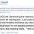 川普促開槍鎮壓 推文「讚頌暴力」遭隱藏加註警語