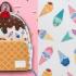 你認得出哪些角色?迪士尼公主變身超可愛冰淇淋印花包
