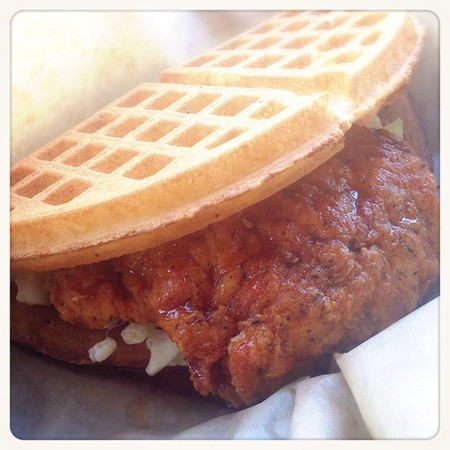 Buttermilk Fried Chicken Waffle