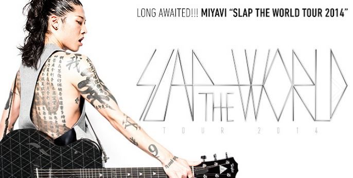 MIYAVI SLAP THE WORLD 2014 世界巡遊演唱會L.A站 (4/25)