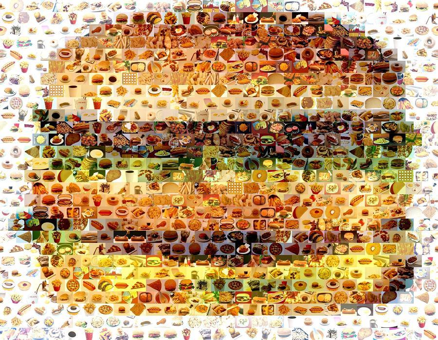 cheeseburger-fast-food-mosaic-paul-van-scott