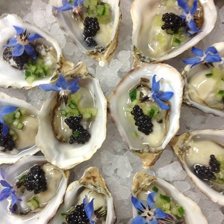 Chateau Marmont bar oyster at cost