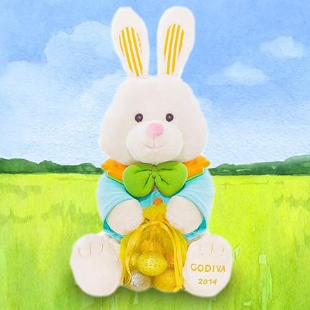 Godiva 2014 Hopsy the Bunny by Gund