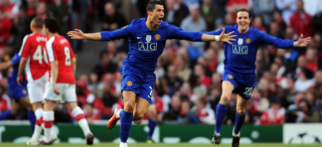 Arsenal v Manchester United - UEFA Champions League Semi Final