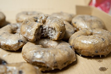 M&M Donuts Blueberry donuts
