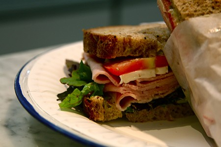 12.Joan's on Third Ham and Brie Sandwich