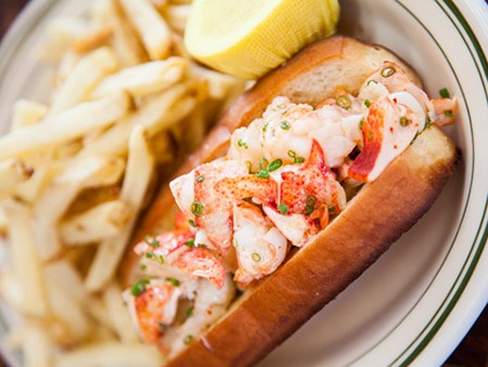 9.Lobster Roll at Connie & Ted's