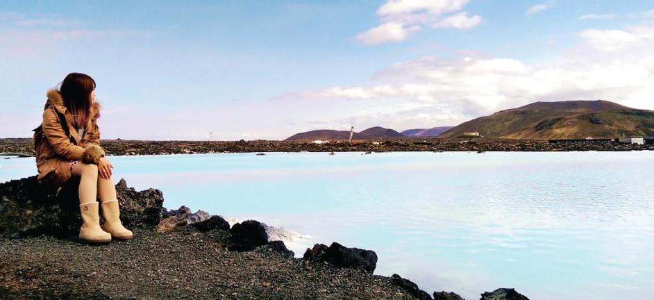 【冰島9天自駕遊】第二章:粉藍色的夢幻溫泉﹑地熱噴泉與火山口湖