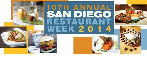 San Diego Restaurant Week 餐廳美食週 (9/21 ~ 9/26)