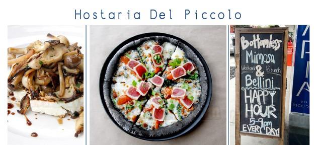 Hostaria Del Piccolo 以現代方式呈現經典意大利菜肴