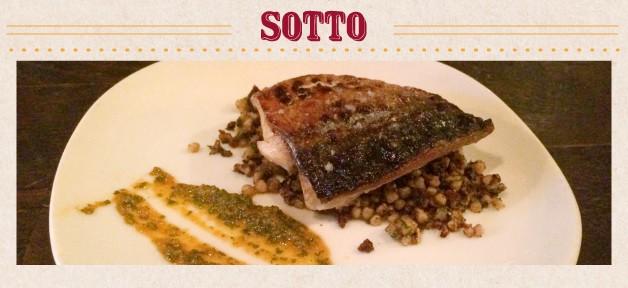 "Sotto ""酒香不怕巷子深""地下室餐廳"