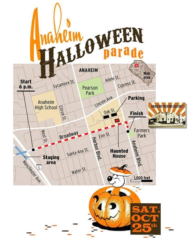 anaheim halloween parade 1