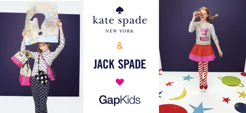 ♥KATE SPADE x GAP KIDS♥聯名童裝系列將於11月發售!
