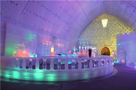 Aurora Ice Museum, Chena Hot Springs Resort