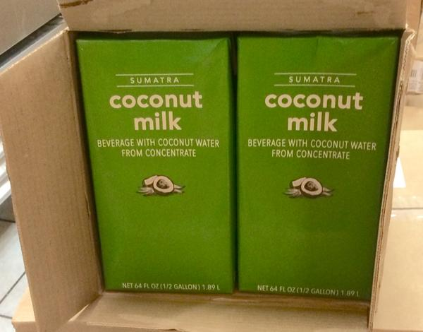 starbucks coconut milk 1