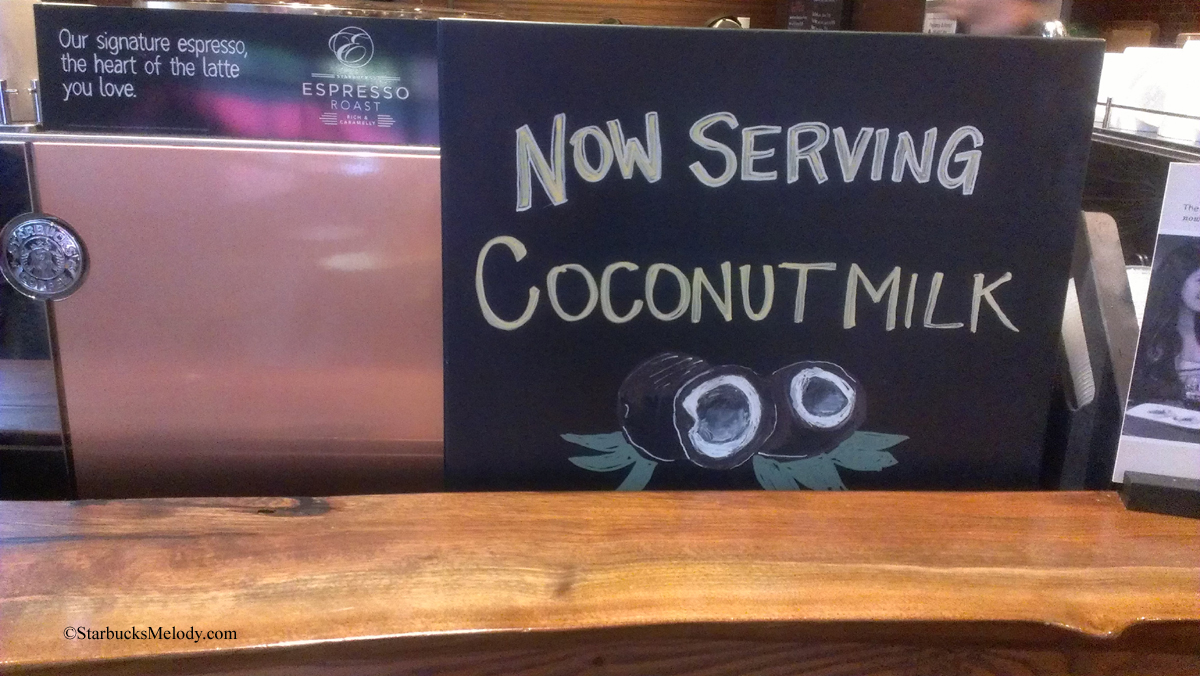 starbucks coconut milk 2