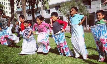 Downtown LA Easter Fest at Grand Hope Park002