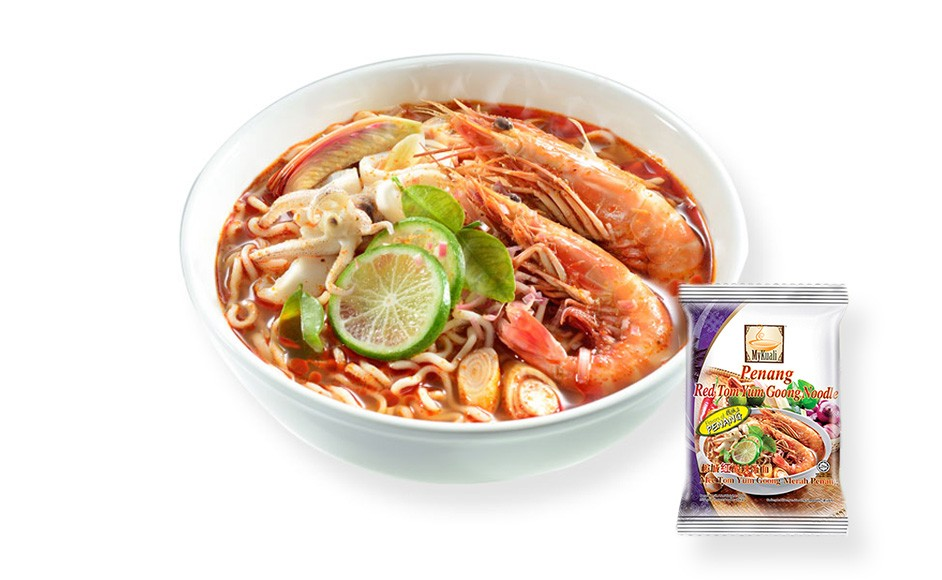MyKuali Penang Red Tom Yum Goong Noodle