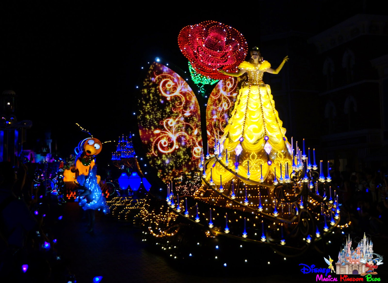 「迪士尼光影匯」炫目預演(Disney Paint the Night Premiere Preview)- 001