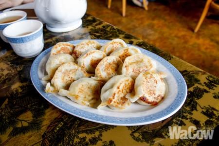 韭菜鮮蝦豬肉鍋貼2