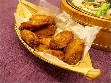 House Special Shrimp Paste Chicken Wings