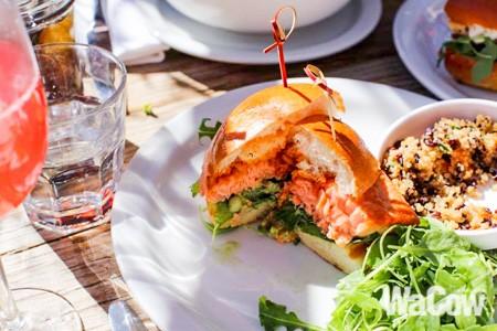 Salmon Sandwich 2