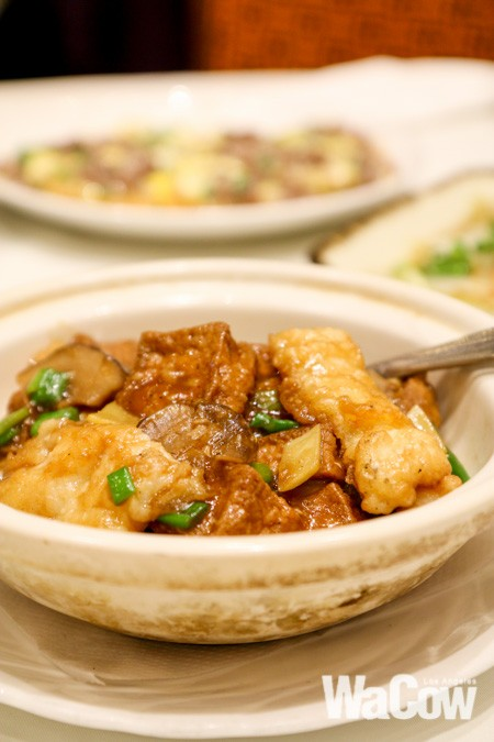 銀鱈魚豆腐煲1