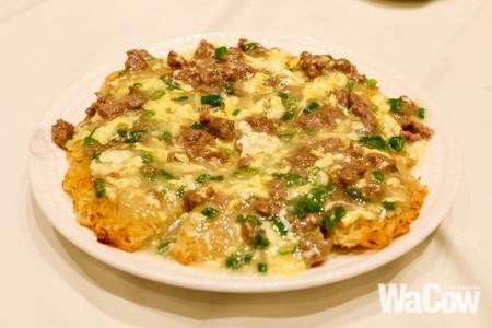 雞蛋牛鬆煎米粉1
